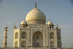 El Taj Mahal, la India Fotos de archivo