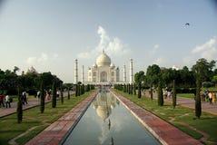 El Taj Mahal, la India Foto de archivo