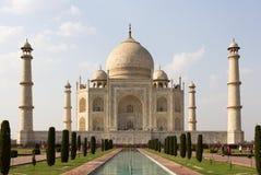 El Taj Mahal, monumento histórico famoso de A Fotografía de archivo