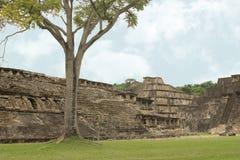 El Tajin考古学废墟,韦拉克鲁斯,墨西哥 库存图片