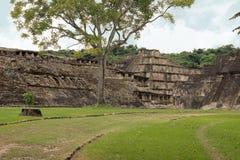 El Tajin考古学废墟,韦拉克鲁斯,墨西哥 库存照片