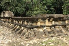 El Tajin考古学废墟,韦拉克鲁斯,墨西哥 免版税库存照片