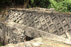 El Tajin考古学废墟,韦拉克鲁斯,墨西哥 图库摄影