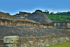 El Tajin Archaeological Ruins, Veracruz, Mexico Stock Photography