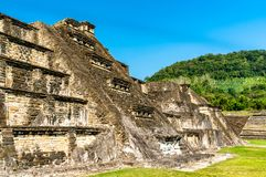 El Tajin, a pre-Columbian archeological site in southern Mexico royalty free stock photography