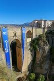 El Tajo canyon, Ronda, Andalusia, Spain Stock Photo