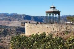 El Tajo canyon, Ronda, Andalusia, Spain Stock Images