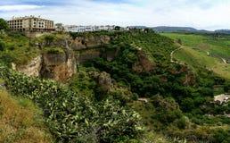 El Tajo Canyon in Ronda, Spain Stock Photo