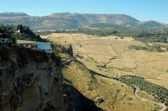 El Tajo Canyon from Ronda, Spain Stock Photos