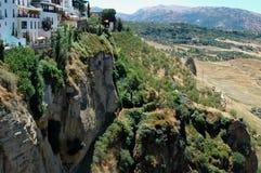 El Tajo Canyon from Ronda, Spain Stock Photo