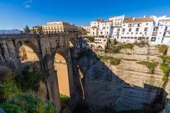 EL Tajo di Ronda, Malaga, Spagna Fotografia Stock