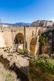 El Tajo Ronda, Malaga, Hiszpania Zdjęcie Royalty Free