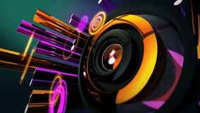 El tambor de la música bate la melodía entretiene ilustración del vector