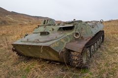 El tanque Imagen de archivo