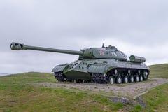 El tanque IS-3 foto de archivo