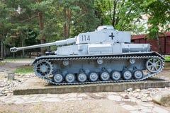 El tanque alemán WW2 fotografía de archivo libre de regalías