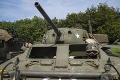 El tanque americano Fotos de archivo libres de regalías