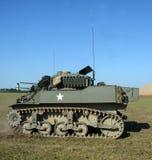 El tanque americano viejo Fotografía de archivo