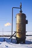 El tanque de aceite Imagen de archivo libre de regalías