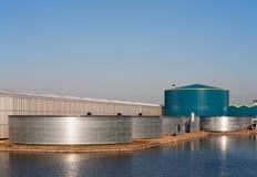 El tanque de agua de Geeenhouse Foto de archivo libre de regalías