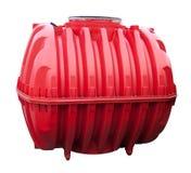 El tanque de agua roja Fotografía de archivo