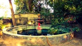 El tanque de agua viejo Imagen de archivo