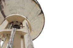 El tanque de agua viejo, el tanque del abastecimiento de agua para la agricultura Imágenes de archivo libres de regalías