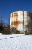 El tanque de almacenamiento foto de archivo