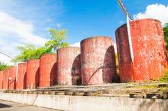El tanque de almacenamiento del agua Foto de archivo libre de regalías