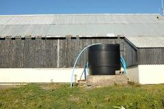 El tanque de almacenamiento del agua Imagen de archivo libre de regalías