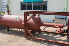 El tanque de almacenamiento líquido. Fotos de archivo