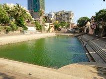 El tanque de Banganga, Waukesha, Bombay la India imagen de archivo