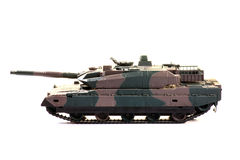 El tanque de batalla Fotografía de archivo libre de regalías