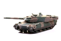 El tanque de batalla Foto de archivo libre de regalías