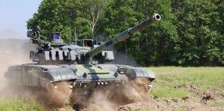 El tanque de batalla Imagenes de archivo