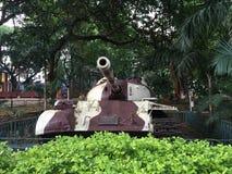 El tanque de batalla Fotos de archivo libres de regalías