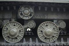 El tanque de Caterpillar, fondo foto de archivo libre de regalías