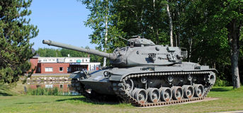 El tanque de ejército desarmado Imagen de archivo