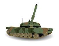 El tanque de ejército verde Foto de archivo