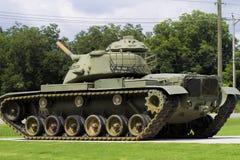 El tanque de ejército conmemorativo M60 de la Segunda Guerra Mundial Imágenes de archivo libres de regalías
