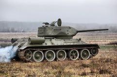 El tanque de HDR.Soviet de la Segunda Guerra Mundial Imágenes de archivo libres de regalías