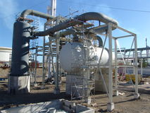El tanque de hidrógeno Fotos de archivo