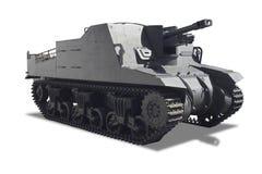 El tanque de la guerra Imagenes de archivo