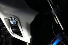 El tanque de la motocicleta de BMW Foto de archivo