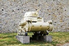 El tanque de la Segunda Guerra Mundial Fotografía de archivo libre de regalías