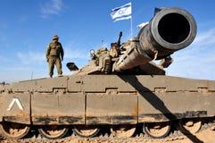 El tanque de Merkava Imagen de archivo