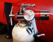 El tanque de oxígeno Fotos de archivo libres de regalías