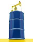 El tanque de petróleo Foto de archivo libre de regalías