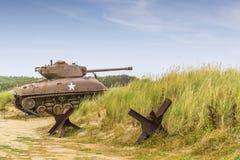 El tanque de Sherman imágenes de archivo libres de regalías