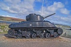 El tanque de Sherman Fotografía de archivo